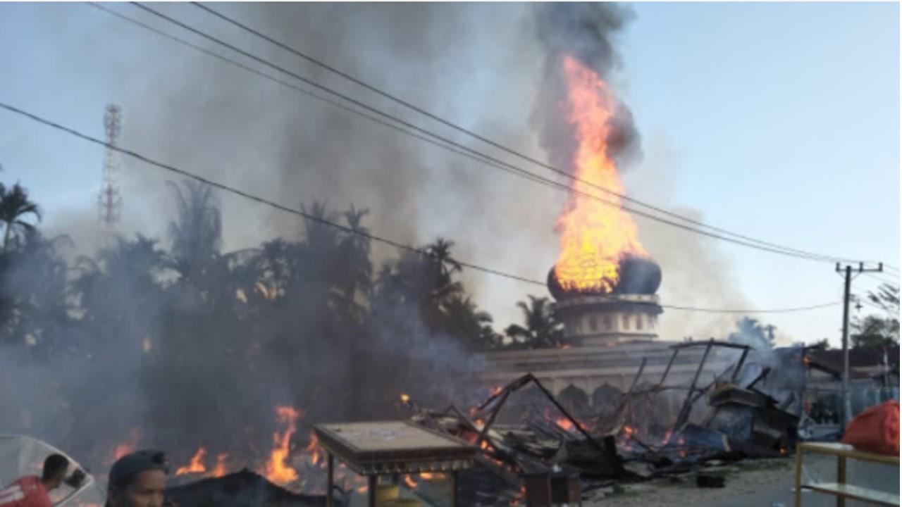 AlFatihah, AC Masjid Meledak Saat Waktu Solat Subuh, Sebanyak 20 Jamaah M3ninggal Dunia